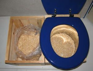 toilettes sèches faciles !