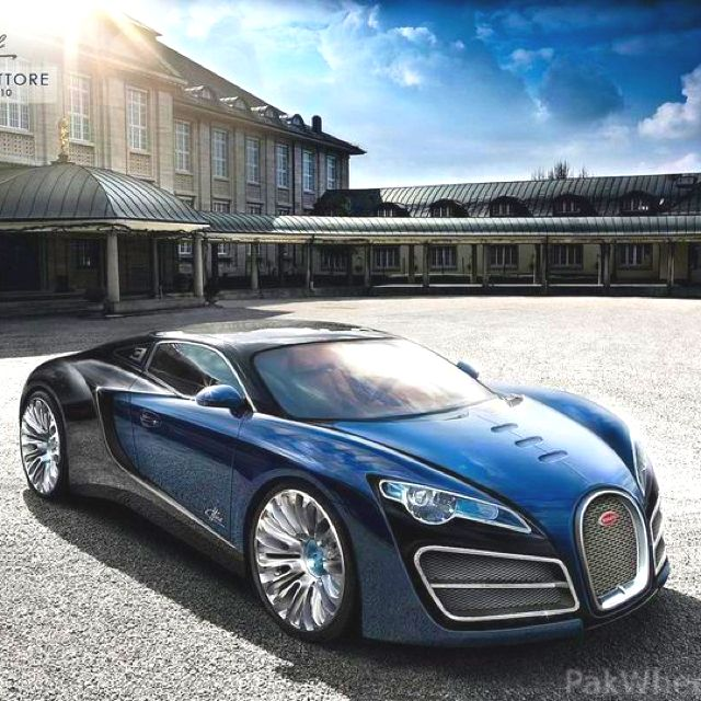 The Bold Bugatti. One of the fastest street legal cars in the world.