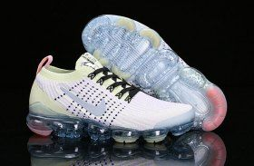 2543da27e10 Nike Air Vapormax Flyknit 2019 Mens Womens Running Shoes Light Purple Yellow  White AJ6900-700