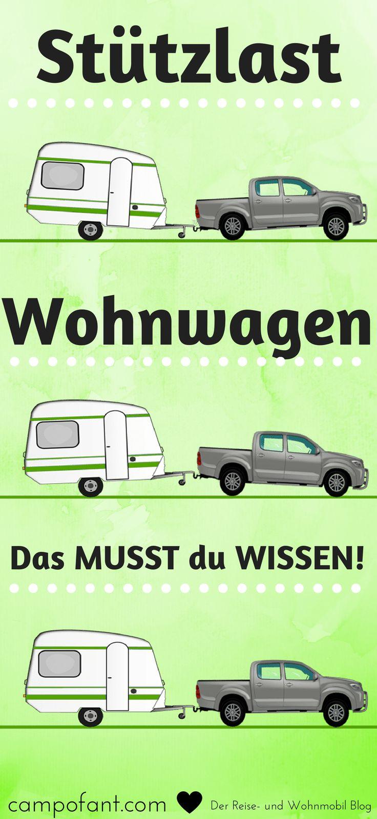 Stützlast Wohnwagen und Anhänger, was gibts zu beachten – CAMPOFANT, der Reise- und Wohnmobil Blog: Camping / Wohnmobil / Vanlife / Reiseberichte / Reiseinfos