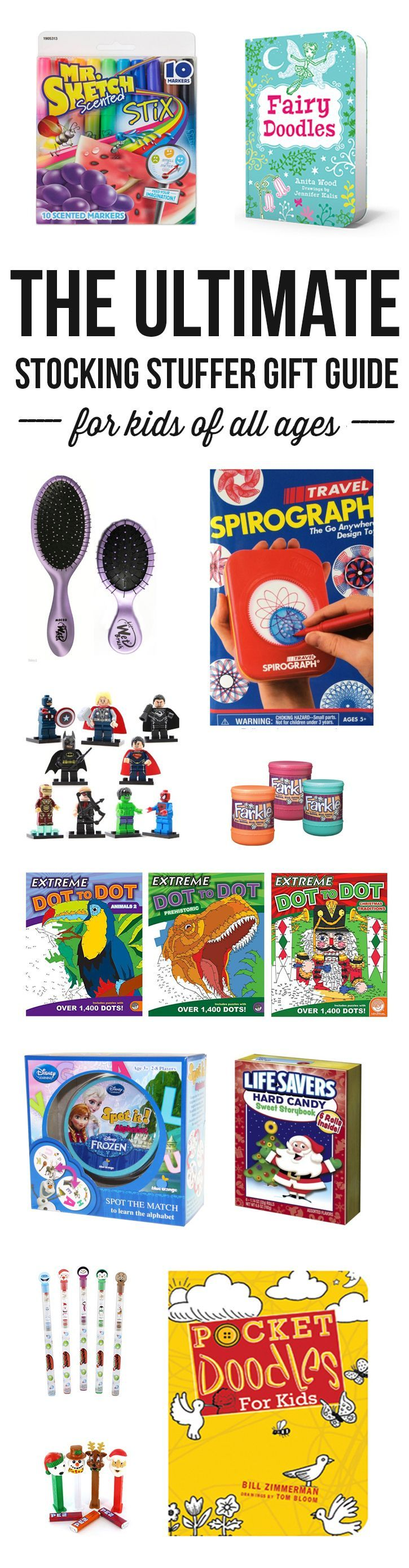 40+ unique and memorable stocking stuffer ideas for kids of all ages!