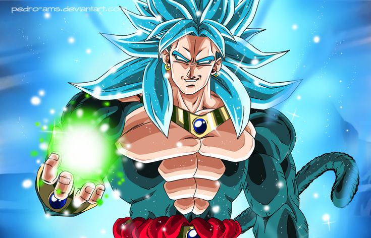 Broly SSGSS4 by Pedro-AMS on DeviantArt
