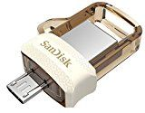 Bestsellers in Computers #7: SanDisk Ultra Dual 32GB USB 3.0 OTG Pen Drive (Gold) #FabOffersIndia