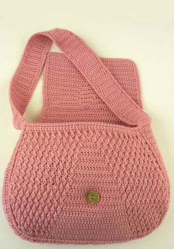Chakra Purse - free crochet pattern /link that works. Better picture of this purse also pinned but link is broken.