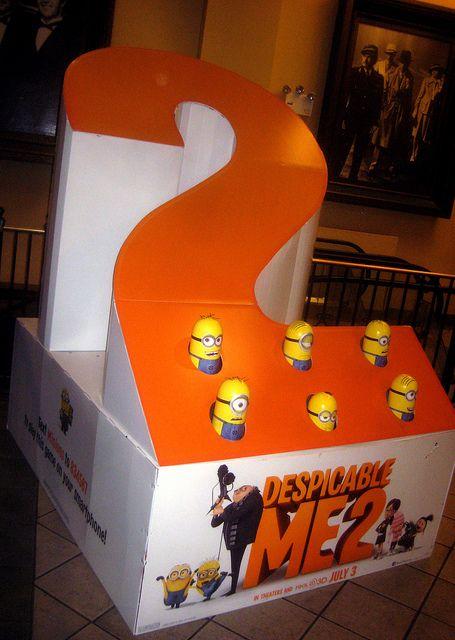 despicable me 2 movie billboard | Despicable Me 2 Whack A Mole Minion Game…