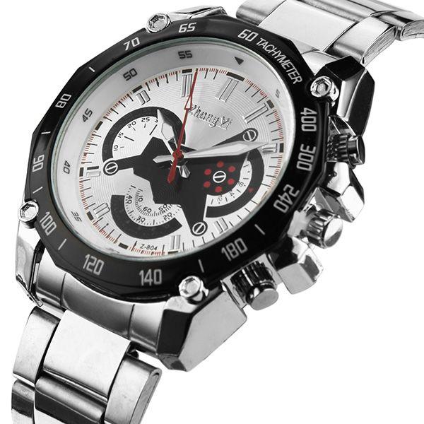 Mens Luxury Watches Fashion Designer Analog Quartz Watch Stainless Steel Band...more info