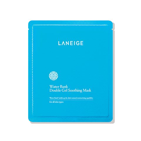 [LANEIGE] Water Bank Double Gel Soothing Mask 5PCS
