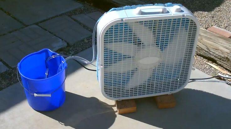 Homemade air cooler clc tech gear backpack