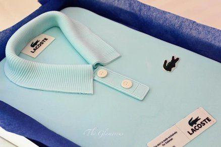 Lacoste T shirt cake  Cake by theglamorouscakes