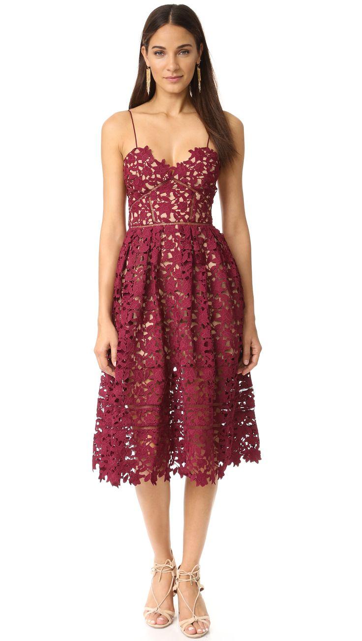 Cranberry Pop! Cranberry cocktail dress #cocktaildress #weddingguest #fallwedding