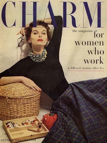 vintage charm magazine