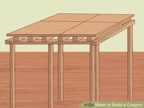Image titled Build a Carport Step 12