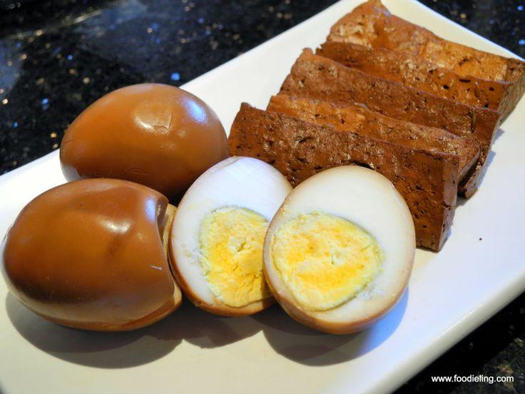 Herbal Eggs and Tofu recipe