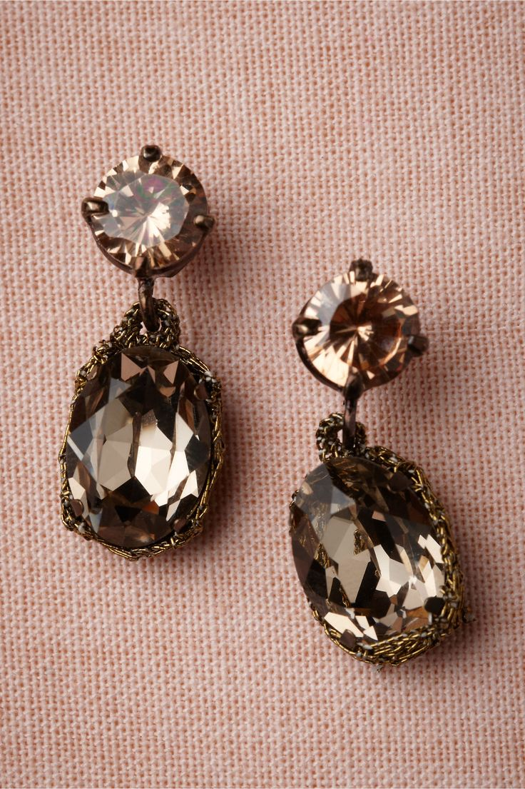 Bellini Earrings In Shop The Bride Bridal Jewelry At Bhldn These May Be My  Favorite