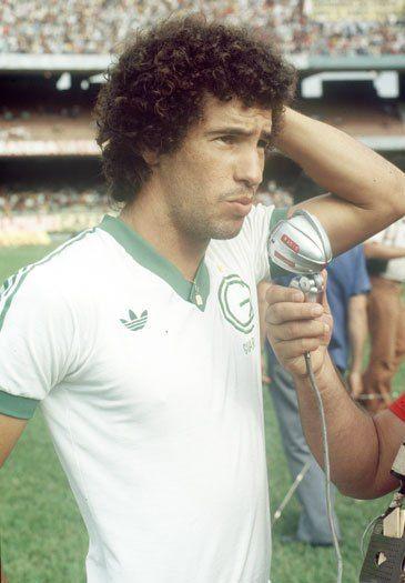 Careca, no Guarani campeão brasileiro de 1978.