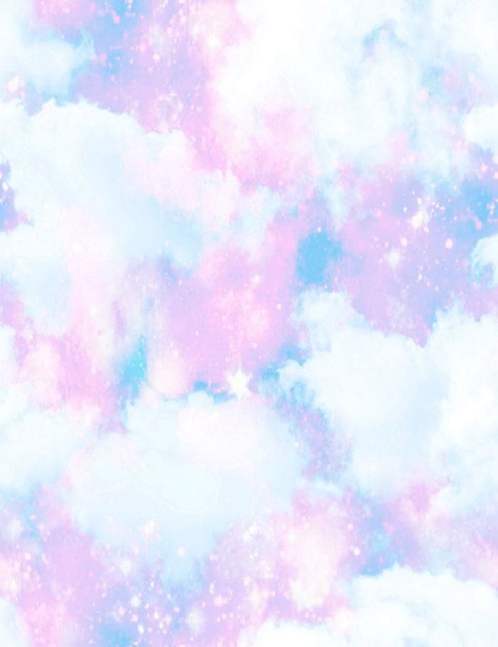 Unicorn Clouds For Baby Birthday Photography Backdrop J