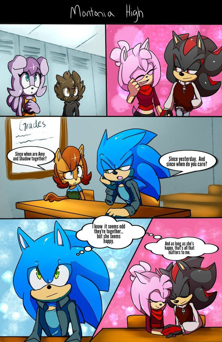 Sonic And Shadow In Bed Comics