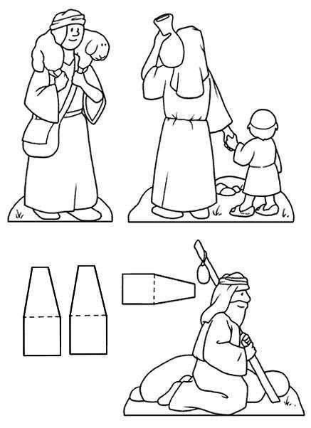 Per Colorare I Disegni Del Presepe I Bambini Possono Utilizzare