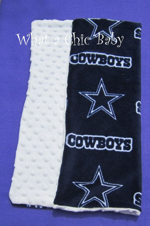 Dallas Cowboys Baby Blanket by WhataChicBaby on Etsy