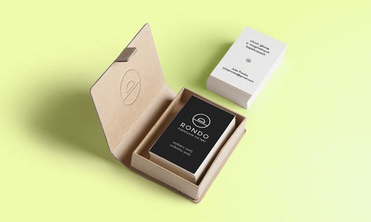 Rondo - hats producer business cards - by Lotne Studio