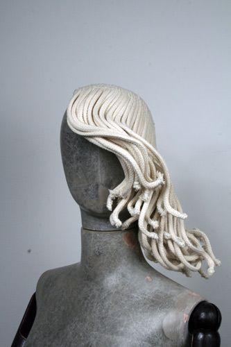 Rope Wig by Bespoke Millinery