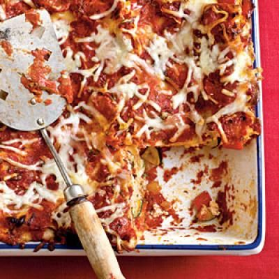 Healthy Baked Vegetable Lasagna Recipe   CookingLight.com