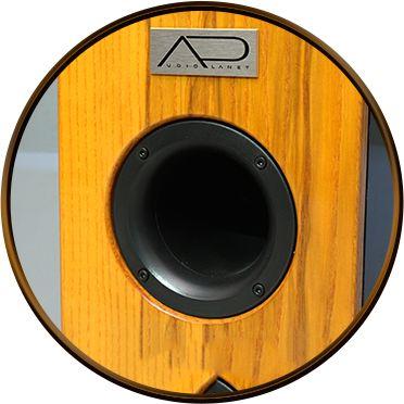 Bas-reflex wyprowadzony na ściankę przednią to celowe założenie – poprawia dynamikę dając jednocześnie większe możliwości ustawienia kolumn.