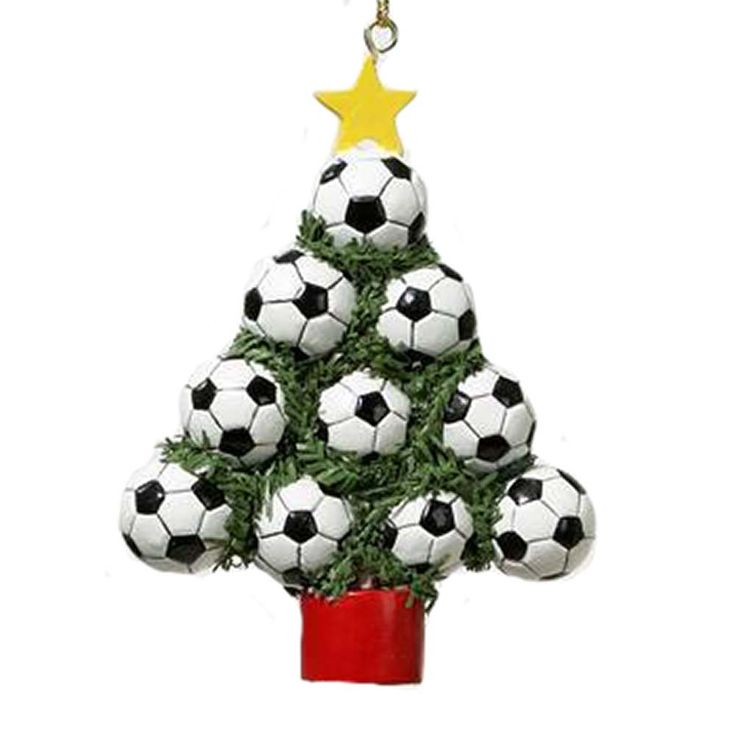 19 best Soccer Christmas Ornaments images on Pinterest ...