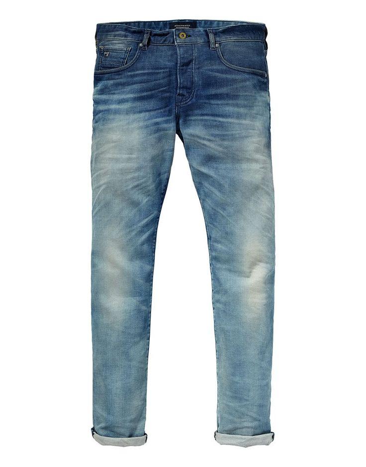 Koop Jeans - Ralston Blauw in Bloom Denim Blue Online op  shop.brothersjeans.nl