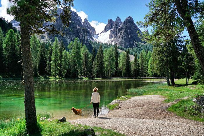 Der schönste See im Hochpustertal in Südtirol: Der Pragser Wildsee