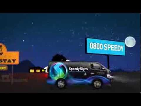 Speedy Signs TV Commercial 2013 & 2015