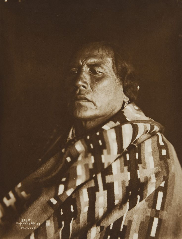 A Native American Map%0A Portrait of a Native American by Richard Throssel
