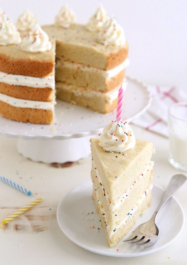 Sugar Cookie Layer Cake