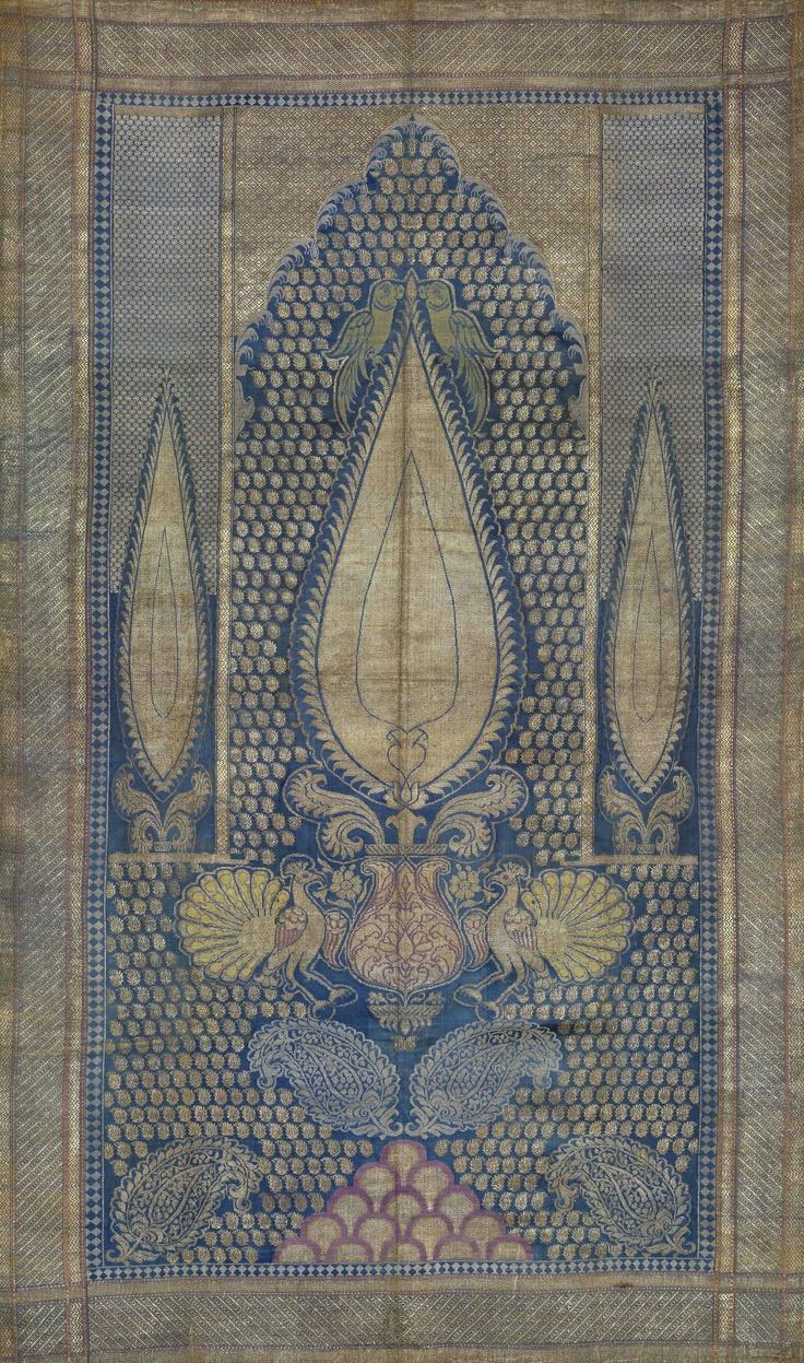 Textiles | Francesca Galloway | 19th century Indian silk.