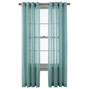 MarthaWindowTM Promenade Grommet Top Curtain Panel