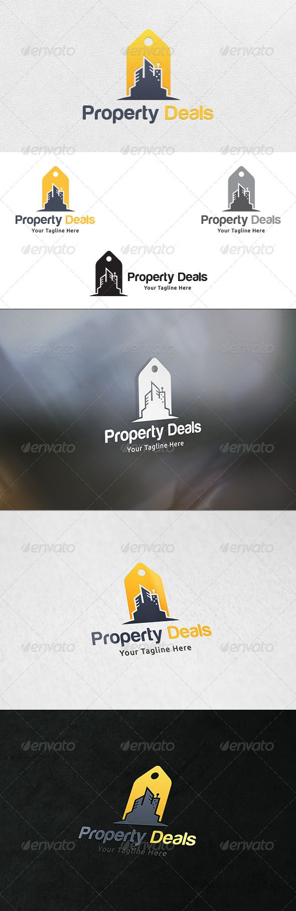 Property Deals Logo Template The 1247