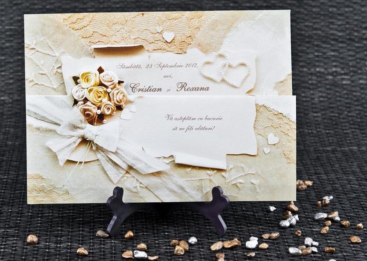 Invitatii nunta, invitatii botez la preturi speciale pentru zile speciale! Meniuri, carduri de masa, plicuri bani, marturii nunta, inscriptionari.