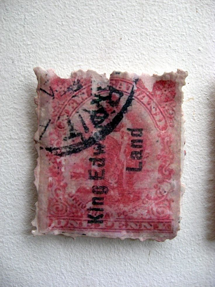 Stamp Sculpture for sale .. by Liz McAuliffe .. $250 each . Commissions welcome.