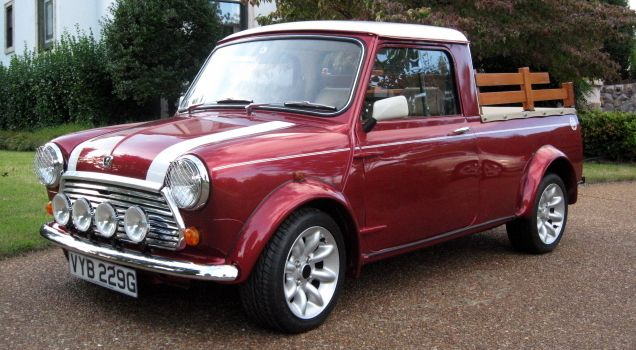 This is the only known example of what is essentially now a 2000 model Mini…
