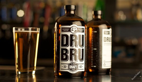 : Beautiful Beer, Dru Bru, Drubru, Packaging Design, Beer Packaging, Beer Bottle, Graphics Design, Beer Design, Bottle Design