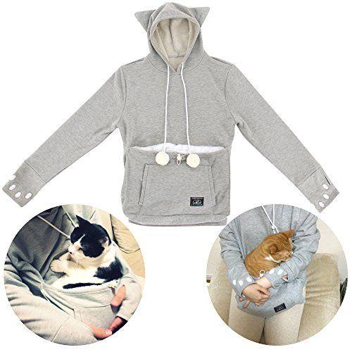 UNIHABITAT(ユニハビタット) にゃんガルーパーカー UPA-32M-GY Mサイズ [ 下を支えてスリング的な使い方 猫じゃらし機能付きパーカー ねこあつめグッズ わんちゃんにも ] UNIHABITAT(ユニハビタット) http://www.amazon.co.jp/dp/B00XOPDEVU/ref=cm_sw_r_pi_dp_PHuxvb1CEKG75