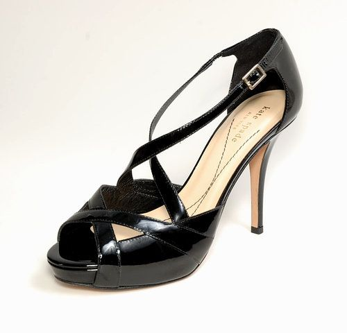 **SOLD**   Worn Once!! ~KATE SPADE New York~ Black Patent Leather Stiletto High Heels, 7.5 - $99