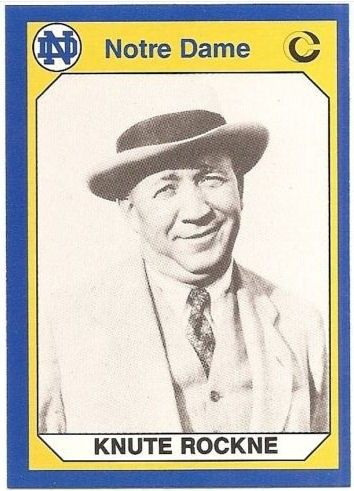 knute-rockne-notre-dame-football MY GREAT GRANDPA PLAYED FOR HIM IN 1925 AND 1926!!!!.JUST HAD TO LET THAT OUT THERE