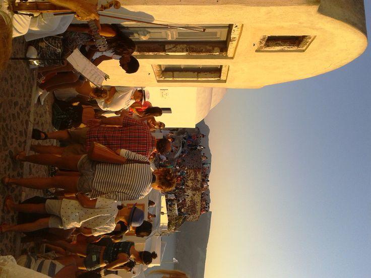 Santorini Island, Cyclades let the violin play #Hellas #Greece 8.2013