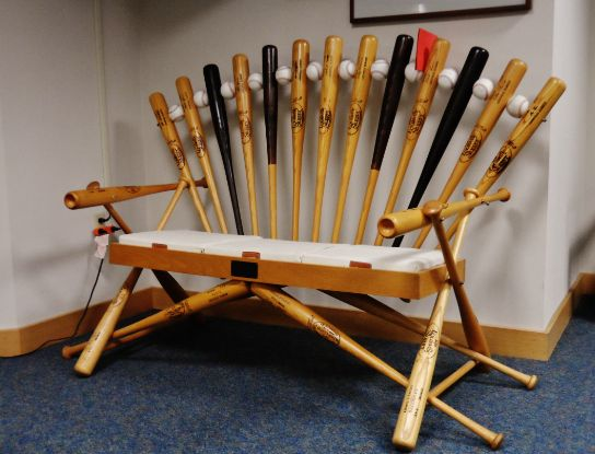 Furniture Made From Baseball Bats Bing Images - Classycloud co