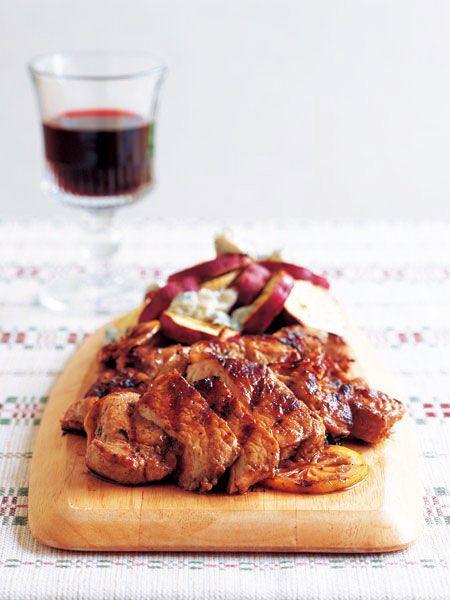 【ELLE a table】豚肉とさつまいものグリルレシピ|エル・オンライン