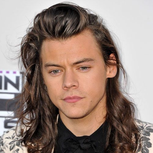 Harry Styles Hairstyle and Beard