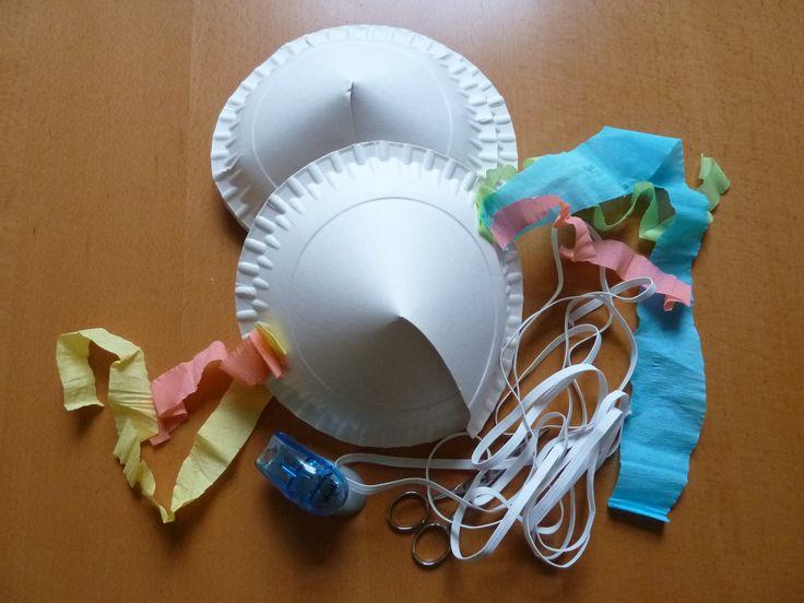 Pappteller-Hut-basteln                                                                                                                                                                                 Mehr