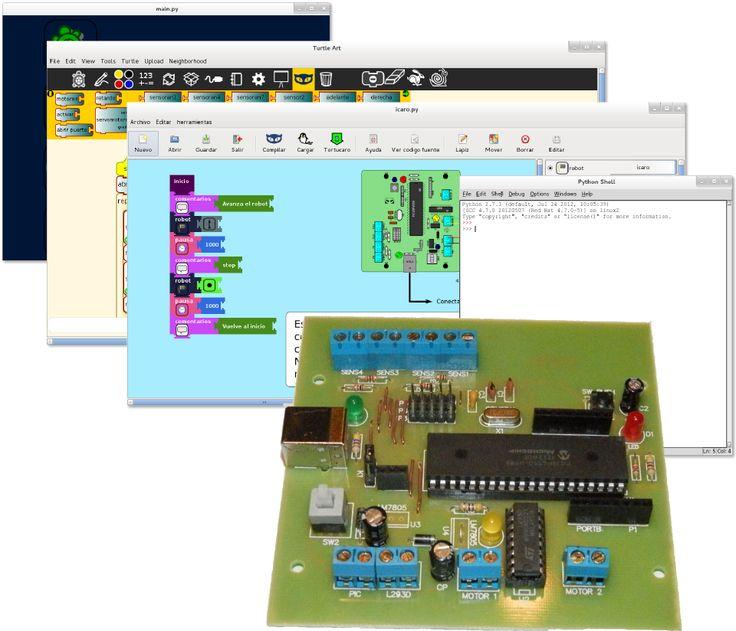 ícaro: robótica educativa con software libre