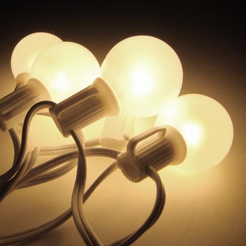 g40 25 globe string lights set clear order online from. Black Bedroom Furniture Sets. Home Design Ideas